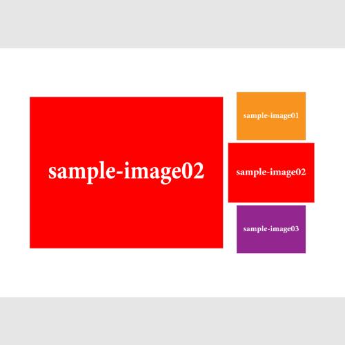 サムネイルをホバーした時のデザインのイメージ